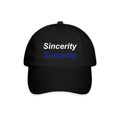 Double Sincerity Cap - Baseball Cap