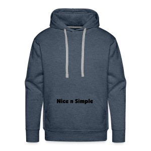 Nice and Simple - Men's Premium Hoodie