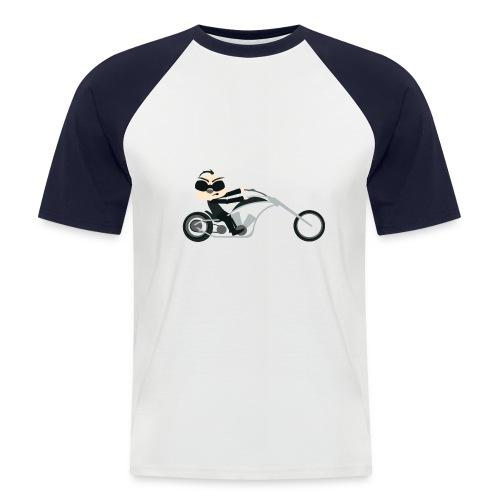 Motor Promodoro Raglan Shortsleeve - Mannen baseballshirt korte mouw