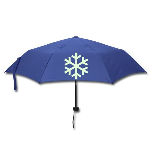 Glow in the Dark Winter Umbrella - Umbrella (small)