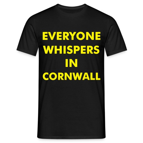 Everyone Whispers (Front) - Men's T-Shirt