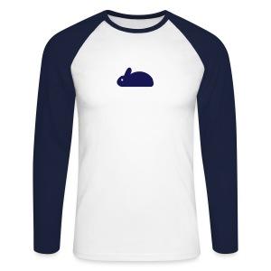 Rabbit - Men's Long Sleeve Baseball T-Shirt