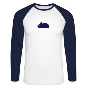 Rabbit - Men's Long Sleeve Baseball T-Shirt