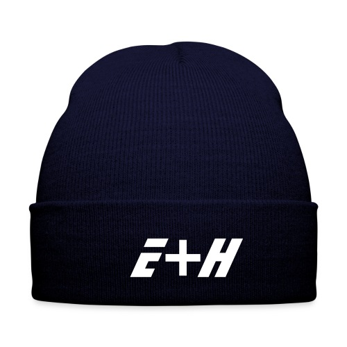 E+H beanie (blue) - Winter Hat