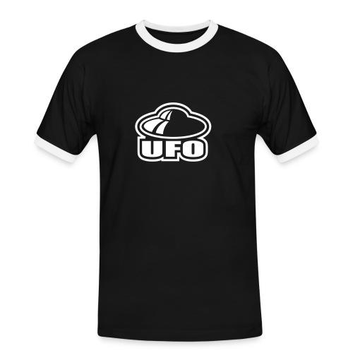 UFO - Männer Kontrast-T-Shirt