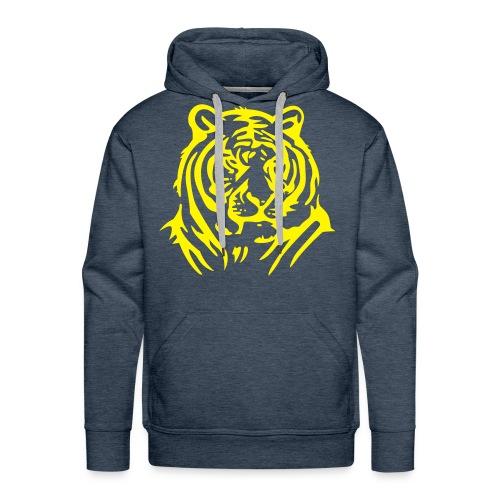 green tiger hoodie - Men's Premium Hoodie