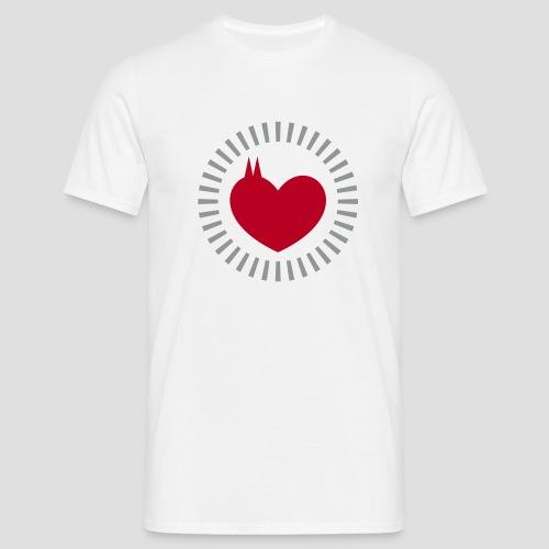 Das Dom Herz - Männer T-Shirt