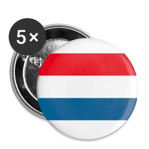 NL vlag buttons - Buttons middel 32 mm