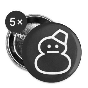 Snowman - Buttons small 25 mm