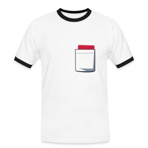 Red Card Tee - Men's Ringer Shirt
