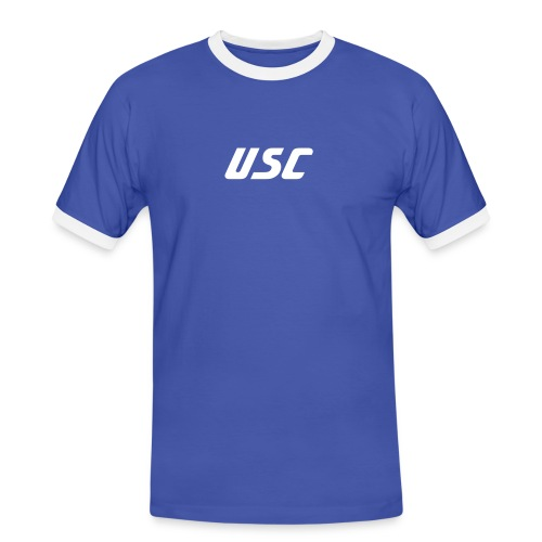 T-Shirt USC  Backprint 101% - Männer Kontrast-T-Shirt