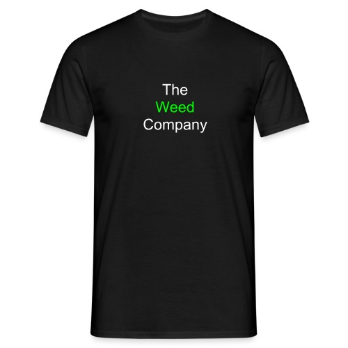 Weed Company Security - Männer T-Shirt