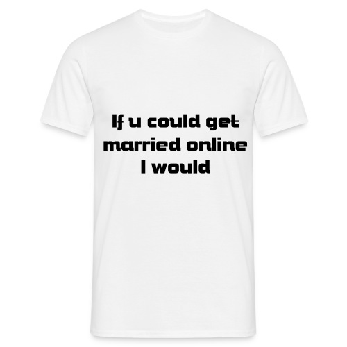 Karl on marriage - Men's T-Shirt