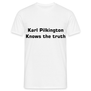 He knows the truth - Men's T-Shirt