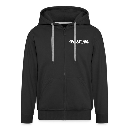 Black B.T.R hoody(zip up) - Men's Premium Hooded Jacket