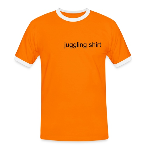 juggling shirt classic (shirt) - Men's Ringer Shirt