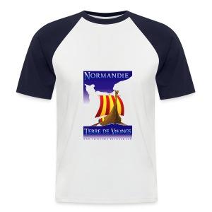 Drakkar - T-shirt baseball manches courtes Homme