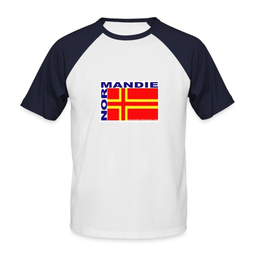 Saint-Olaf - T-shirt baseball manches courtes Homme