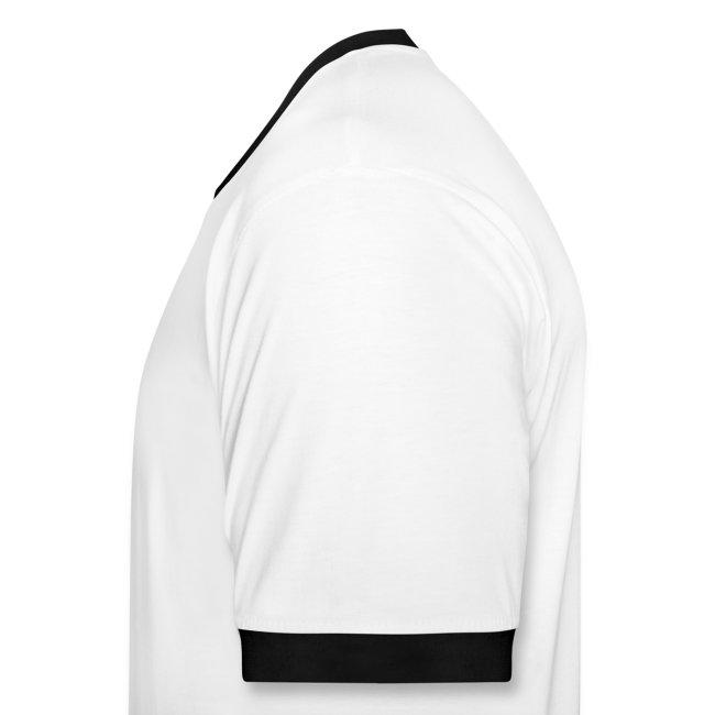 drive 962c - contrast Shirt: weiß/schwarz; Druck: schwarz