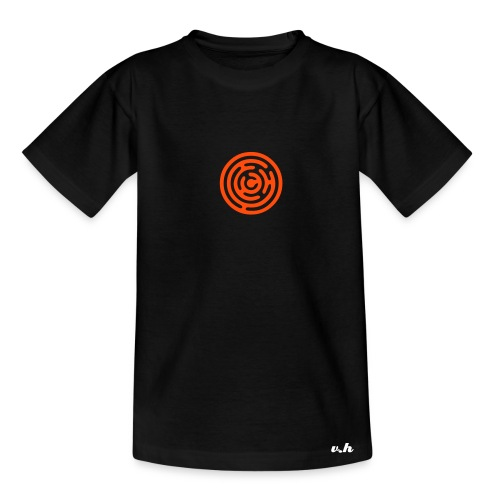 Labrynth Kids Orange - Teenage T-Shirt