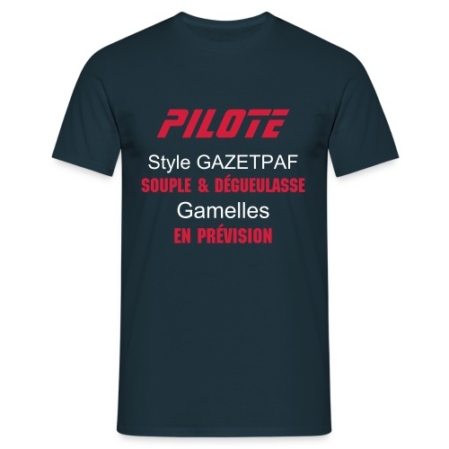Pilote - T-shirt Homme