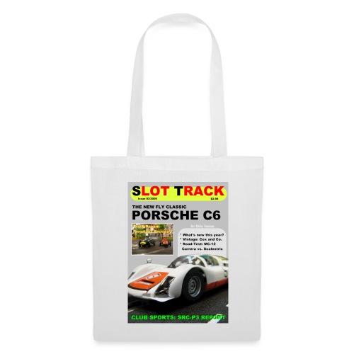 Slot Track 03-06 - Stofftasche: weiß; Transferdruck - Stoffbeutel