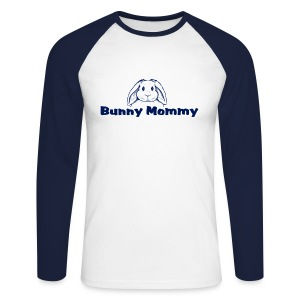 Bunny Mommy - Men's Long Sleeve Baseball T-Shirt