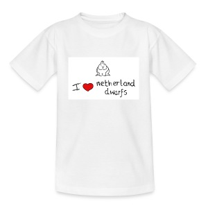 I Love Netherland Dwarfs - Teenage T-shirt