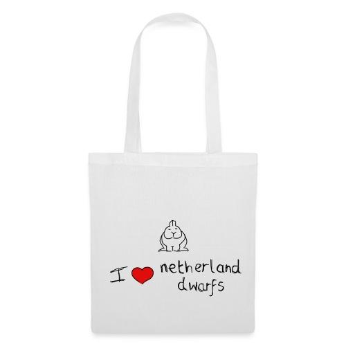 I Love Netherland Dwarfs - Tote Bag