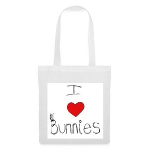 I Love Bunnies - Tote Bag