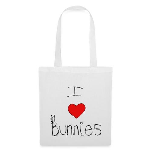 I Love Bunnies - Tote Bag