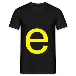 'beep' Big E alpha Tee - Men's T-Shirt
