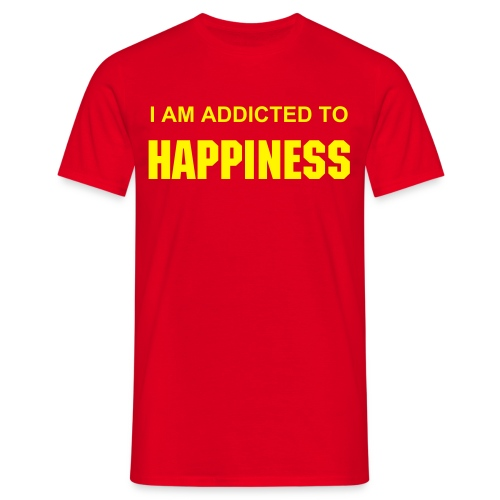 HAPPINESS - Men's T-Shirt
