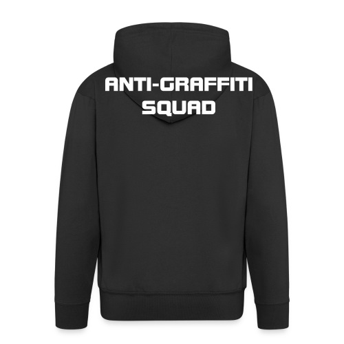 ANTI-GRAFFITI SQUAD - Men's Premium Hooded Jacket
