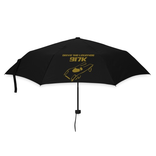 drive 917k - Regenschirm: grün; Druck: gold-metallic - Regenschirm (klein)
