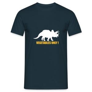 Vegetables only - T-skjorte for menn