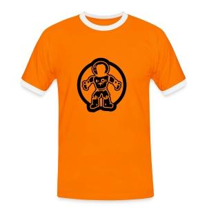 ...the astronaut - Kontrast-T-skjorte for menn