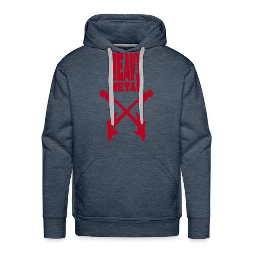 heavy metal - Sweat-shirt à capuche Premium pour hommes