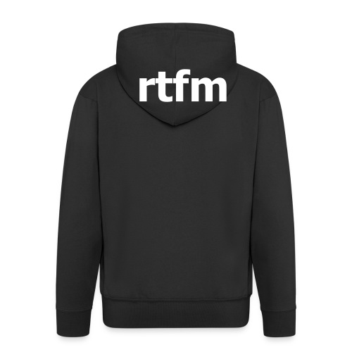 RTFM - Men's Premium Hooded Jacket
