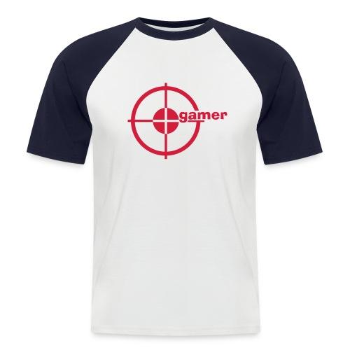 Gamer - Pull - Mannen baseballshirt korte mouw