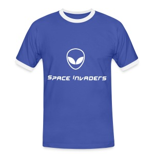 Space invaders - T-shirt contrasté Homme