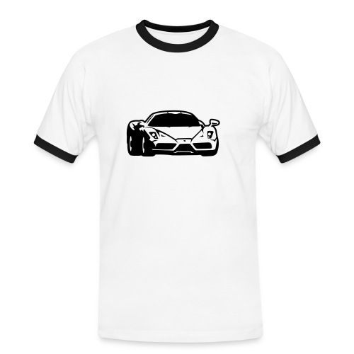 McLaren front - Mannen contrastshirt