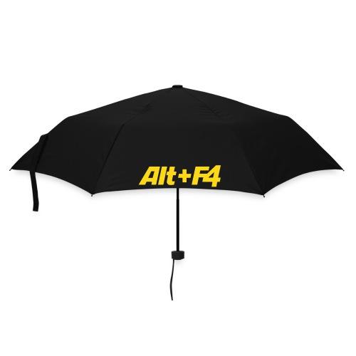 Schirm ALT+F4 blau - Regenschirm (klein)