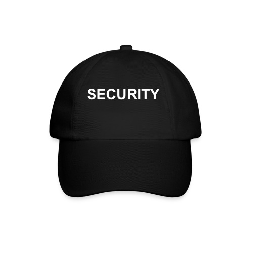 Security Cap - Baseball Cap