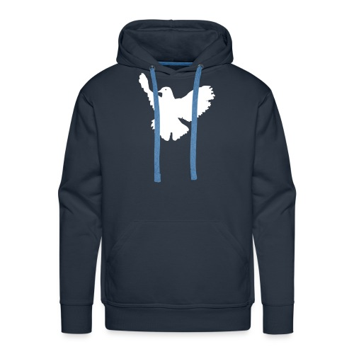Kaputzensweater Friedenstaube - Männer Premium Hoodie