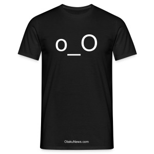 Anime Smiley Confused/Surprised Glow In The Dark Comfort T-shirt - Men's T-Shirt