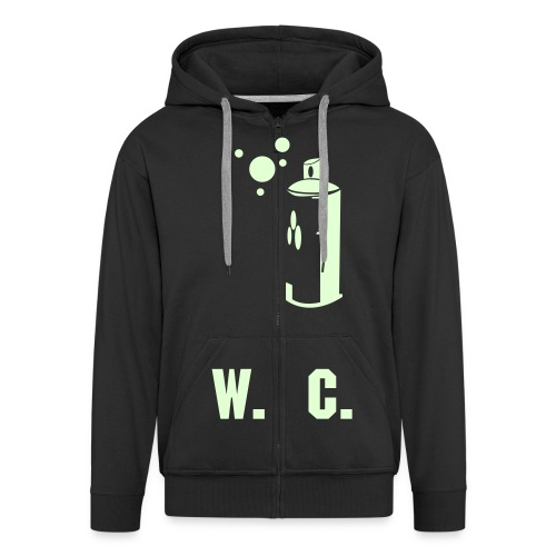 Glow in the dark Graf Hooded Jacket - Men's Premium Hooded Jacket