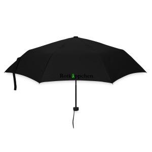Rotes Dach - Regenschirm (klein)