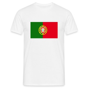 Portugal Flag Tee Shirt - Men's T-Shirt