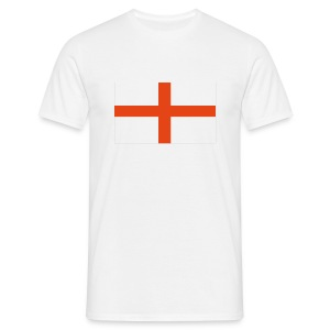 England Flag Tee Shirt - Men's T-Shirt